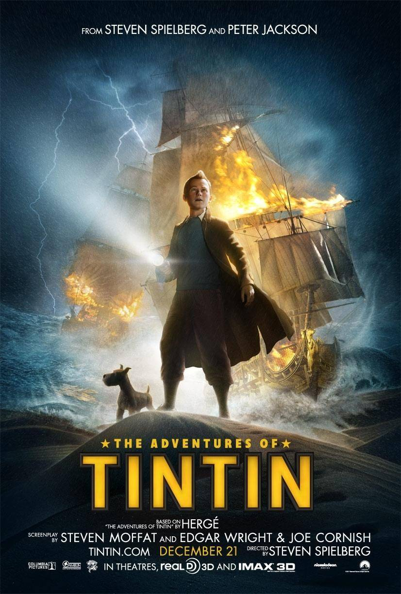 The Adventures of Tintin | 2011 | BluRayRip | Full HD 1080p | 5 1